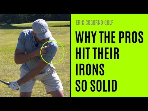 GOLF: Why The Pros Hit Their Irons So Solid