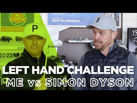 LEFT HANDED CHALLENGE: ME V SIMON DYSON