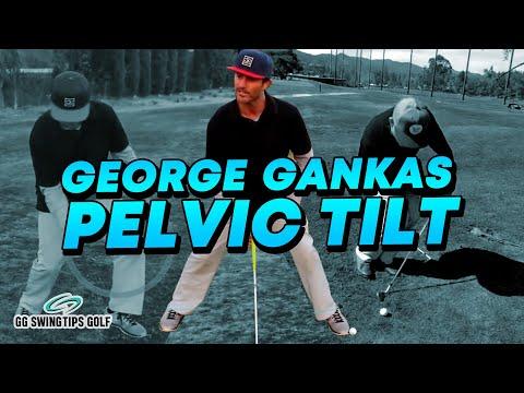 George Gankas EXPLAINS Pelvic Tilt | Golf VLOG