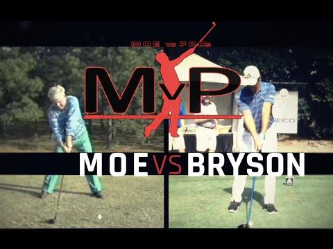 (MvP) Moe vs. Pros — Moe Norman & Bryson DeChambeau