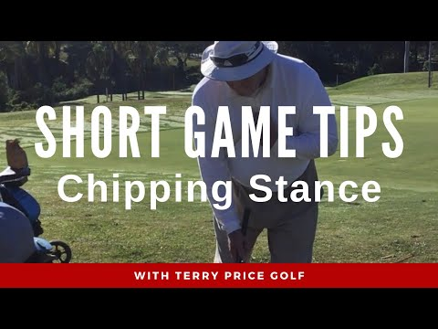Short Game Tips – Chipping Stance