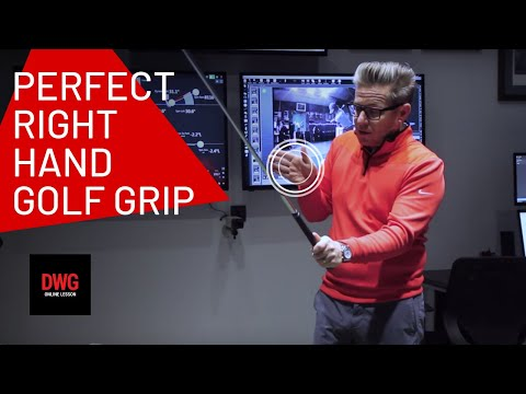The Right Hand Golf Grip – At 3 Stages Of Your Golf Swing