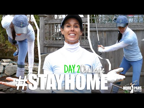 Fore Golfers: Stay Home Challenge – Day 2