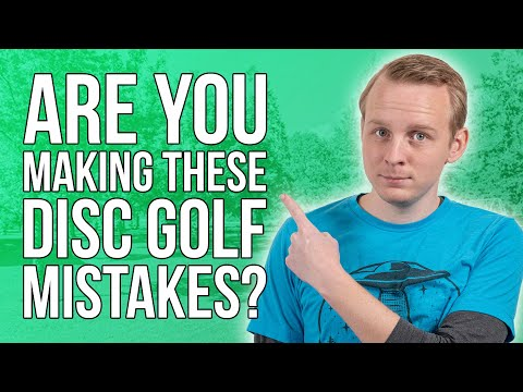 Top 5 Most Common Beginner Mistakes  | Disc Golf Beginner's Guide