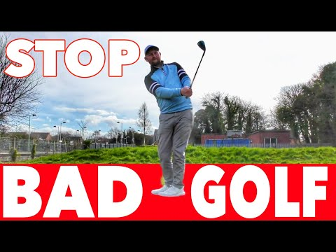 WHAT BAD GOLFERS DO AND HOW TO FIX IT! SIMPLE GOLF TIPS