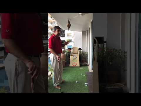 How to control the height when you are chipping