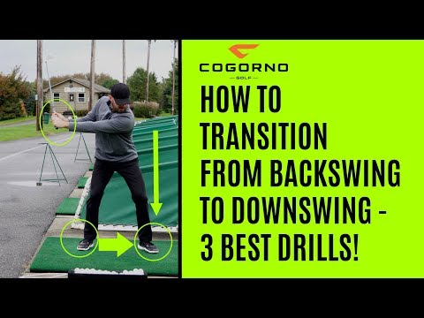 GOLF: How To Transition From Backswing To Downswing – 3 Best Drills