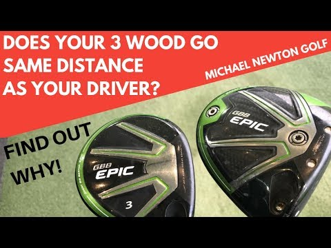 Why Does Your 3 Wood Go As Far A Your Driver?