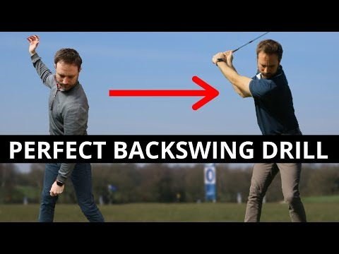 A SIMPLE DRILL TO PERFECT THE BACKSWING