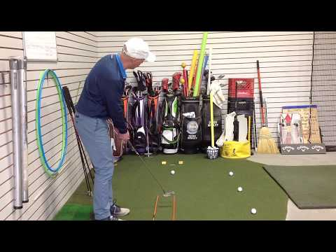 Indoor Putting Drill – Tracks and Gate – Canadian Fade Golf Video Drills – Golf Lessons