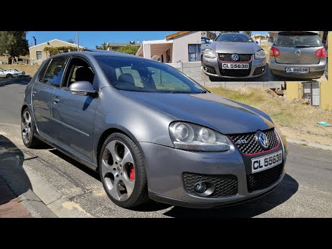 GOLF 5 GTI GETS FRESHEN UP WITH NEW SPOTLIGHTS LAMPS & NUMBERPLATES!