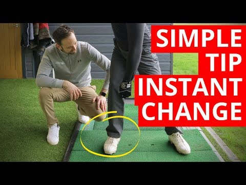HOW ONE SIMPLE TIP WILL CHANGE YOUR GOLF SWING