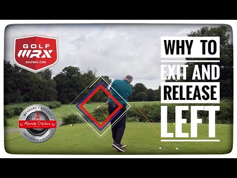 Why To Exit And Release Left In Golf| Like  Ben Hogan And The Pros