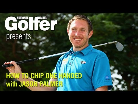 Jason Palmer golf tips: How to chip one handed