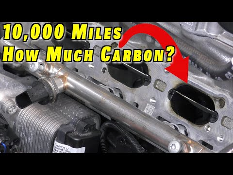 How Much Carbon Build Up at 10,000 Miles?? ~ 2019 Golf R