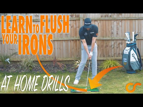 AT HOME GOLF DRILLS – FLUSH YOUR IRONS