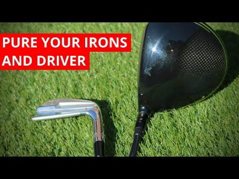 HOW TO NAIL THE IRONS AND DRIVER WITH ONE SIMPLE TIP