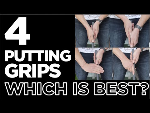 THE BEST GRIP FOR PUTTING