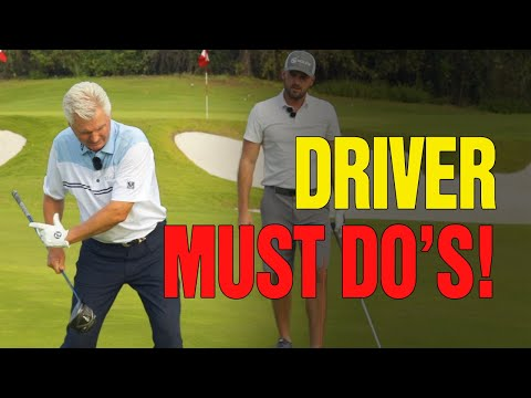 [DRIVER MUST DO'S] – Start The Golf Downswing With Driver (With Eric Cogorno Golf)