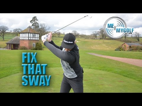 STOP SWAYING IN THE GOLF SWING