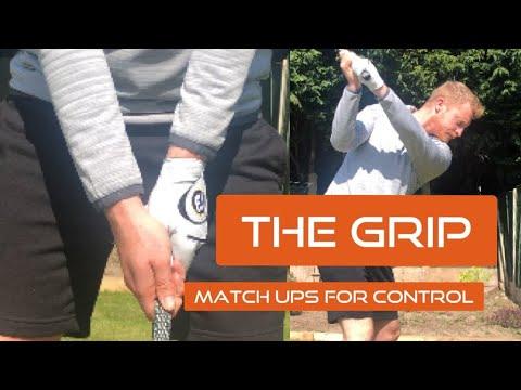 GOLF GRIP – Straight golf shots – Golf At Home