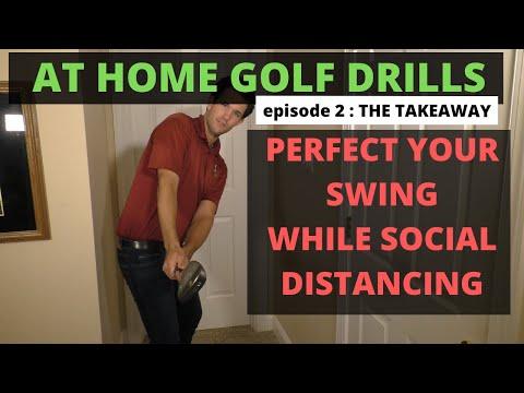 THE PERFECT TAKEAWAY – Socially Distanced Golf Academy | Episode 2 | Tom Saguto, PGA | SagutoGolf