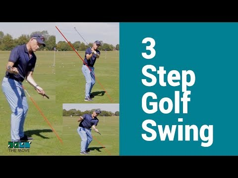 Build your golf swing in just 3 easy steps