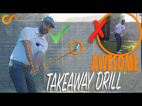 AWESOME TAKEAWAY DRILL – STOP ROLLING THE CLUB INSIDE