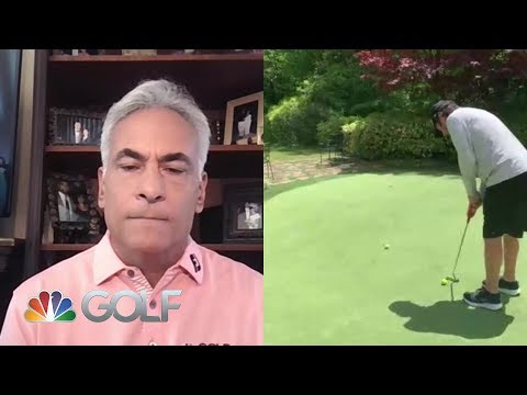 Billy's Backyard Practice: Andrade teaches putting keys   Golf Channel
