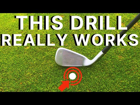 STOP HITTING THE GROUND BEHIND THE GOLF BALL: How to consistently hit the golf ball first