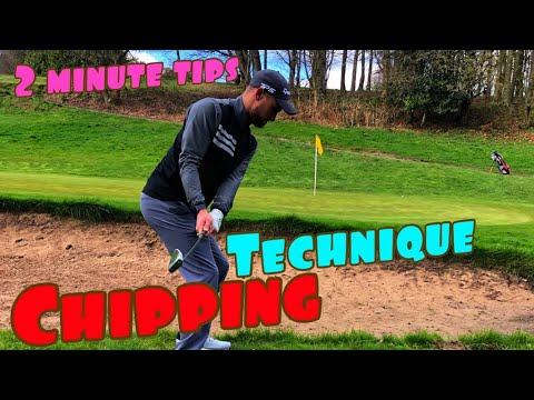 GOLF CHIPPING TIPS – chipping technique
