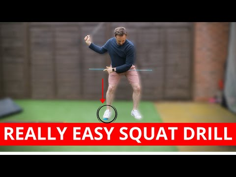 REALLY EASY SQUAT DRILL ANYONE CAN DO TO IMPROVE