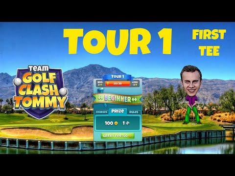 Golf Clash tips, Hole 2 – Par 4, Meadow Castle – Beginner, Tour 1 – GUIDE/TUTORIAL