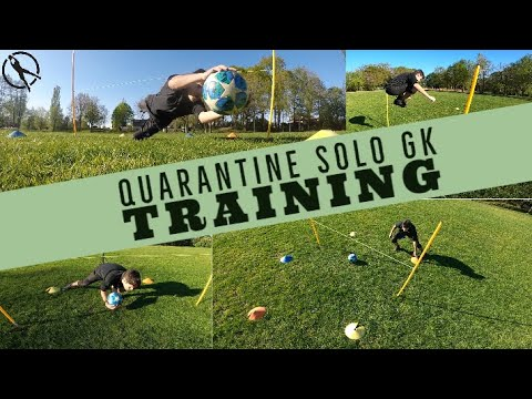 Goalkeeper Training & Exercises To Do During Quarantine and After!