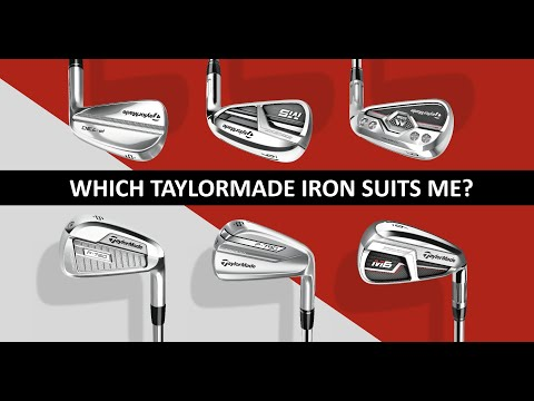 Which TaylorMade iron suits me?