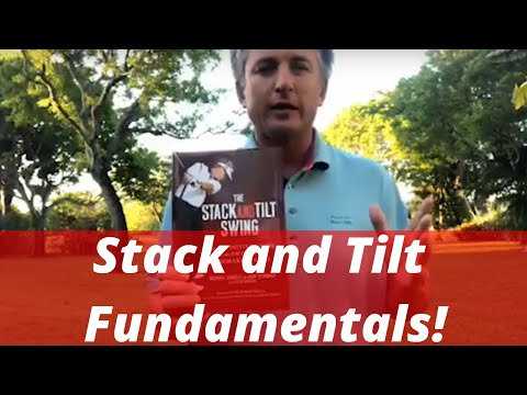 Stack and Tilt Golf Swing Fundamentals   Your Daily Golf Swing Stimulus Ep 1   Backyard Golf Lessons