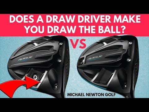 Do Draw Drivers Work? Callaway Rogue Draw Driver VS Rogue Standard Driver
