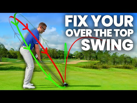HOW TO FIX YOUR OVER THE TOP GOLF SWING IN 5 DAYS !