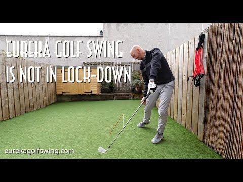 Eureka Golf Swing in your Garden