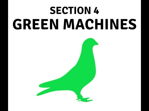 ELECTRONIC CHIPPING OF THE GREEN MACHINES TEAM