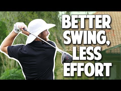 Do You Want an EFFORTLESS GOLF SWING? Here are 3 drills