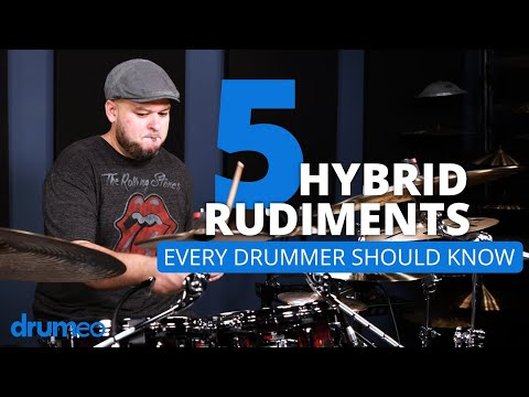 5 Hybrid Rudiments That Every Drummer Should Know