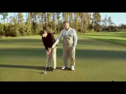 Golf tip basic putting techniques by Brian Mogg