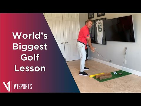 V1 Sports: Worlds Biggest Golf Lesson with Brian Mogg