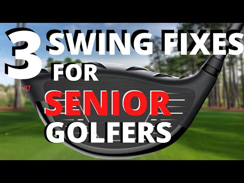Simple Golf Swing for Senior Golfers – bad back, not as flexible as a tour player? Watch This