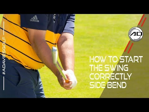 How To Start The Swing Correctly – Side Bend