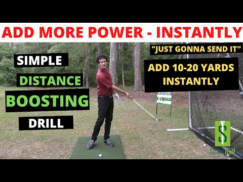 POWERFUL GOLF SWING DRILL to INCREASE DISTANCE NOW [Gain 20 Yards, Solid Contact, Effortless Power ]