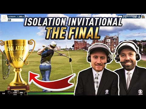 GOLF'S NEWEST COMMENTARY DUO – Isolation Invitational – THE FINAL!