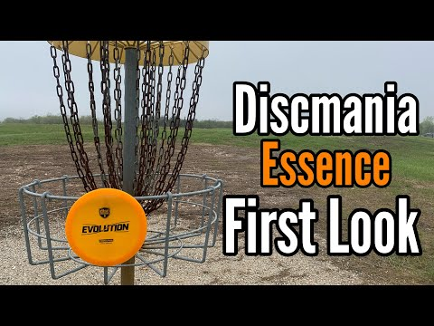 Discmania Essence Only Disc Golf Round (First Impressions)