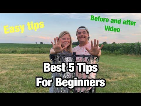 Best Tips For Beginner Disc Golfers